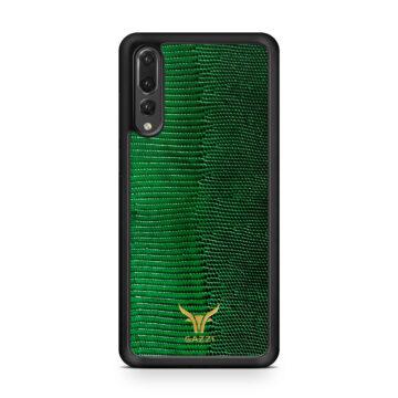 GAZZI_Case_Huawei_P20_PRO_Lizard_Gruen_Gold