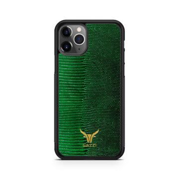 GAZZI_Case_iPhone_11_Pro_Lizard_Gruen_Gold