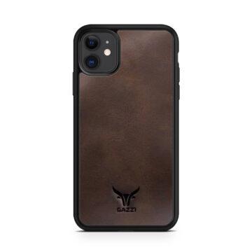 GAZZI_Case_iPhone_11_Vintage_Braun