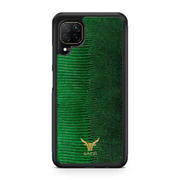Gazzi_Case_Huawei_P40_LITE_Lizard_Gruen_Gold
